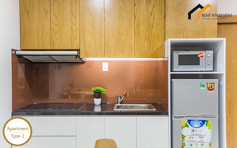Apartments building microwave room Residential