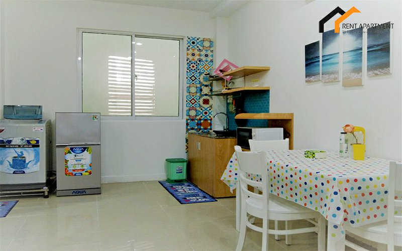 renting Housing kitchen serviced project