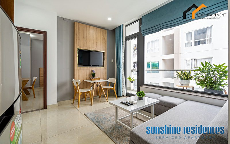 Apartments building microwave window lease