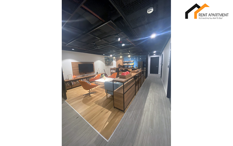 Co-working space apartment