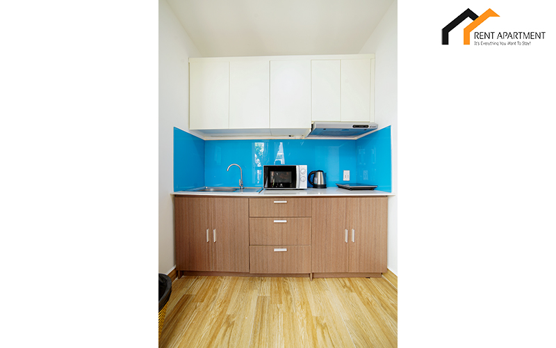 Kitchen house serviced apartment