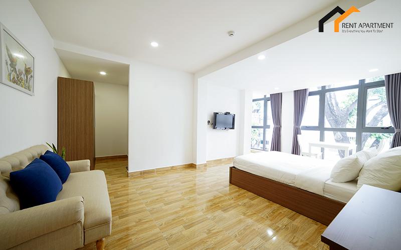 window serviced apartment