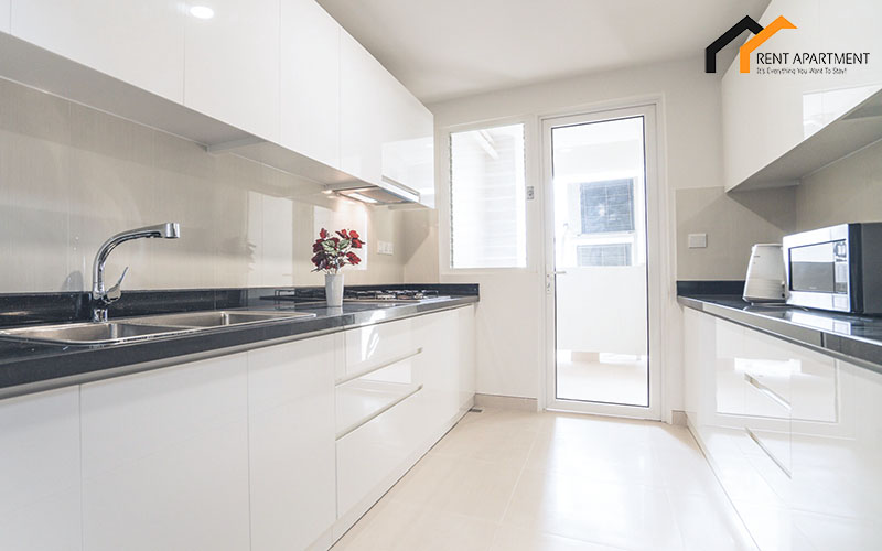 flat fridge light balcony property