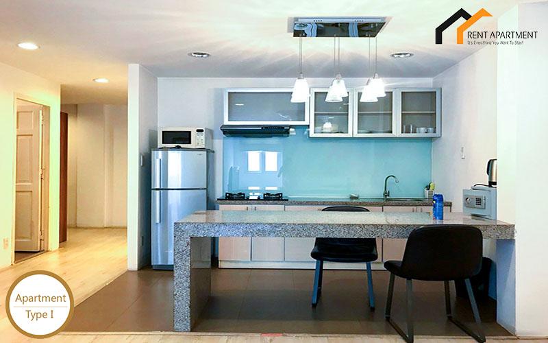 loft Duplex kitchen serviced Residential