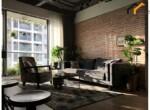 apartment Duplex kitchen serviced lease