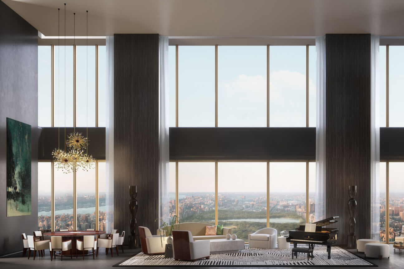 Căn hộ penthouse 111 West 57th Street