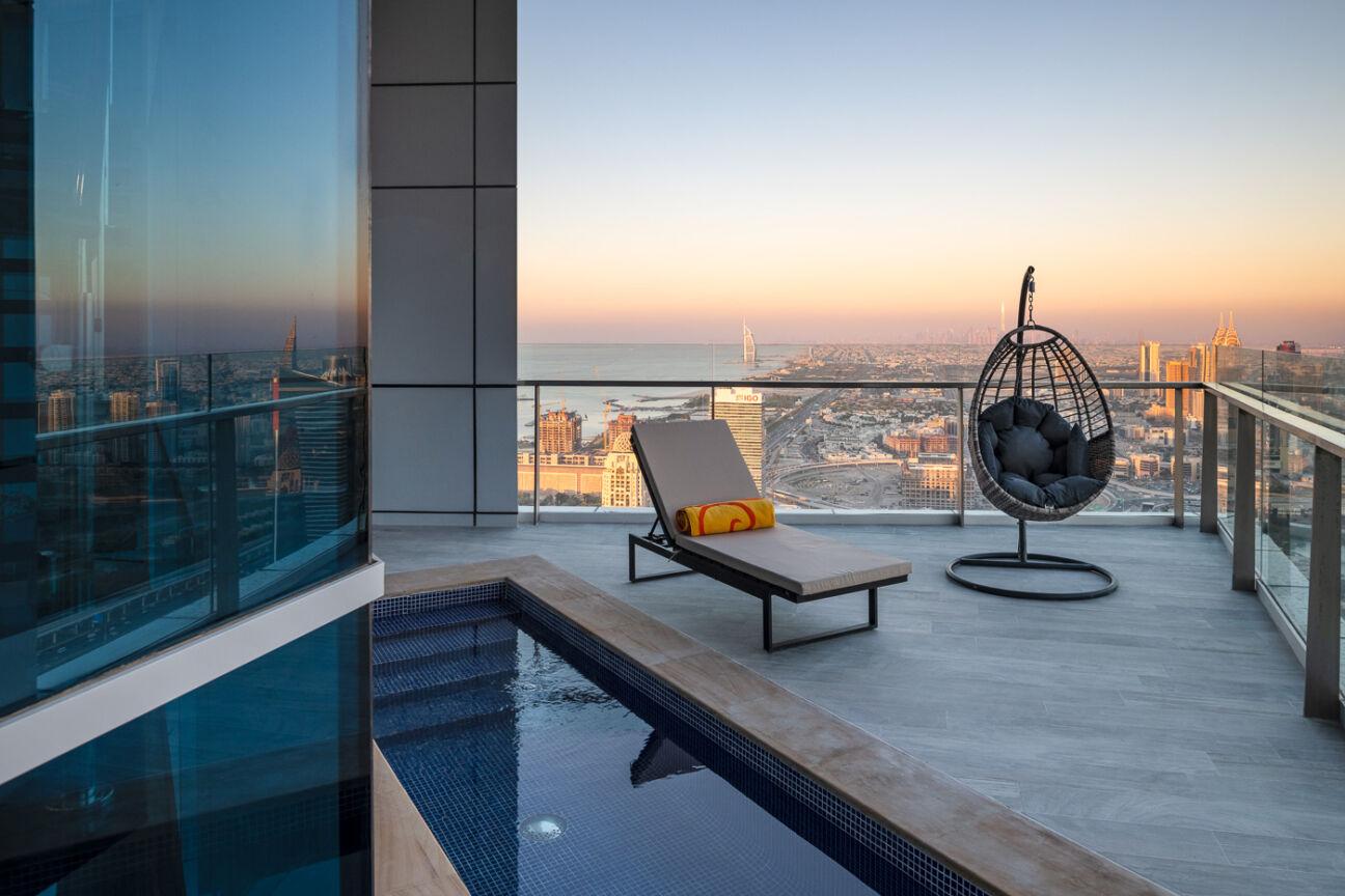 Căn hộ penthouse 23 Marina