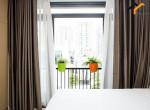 flat bedroom room condominium sink