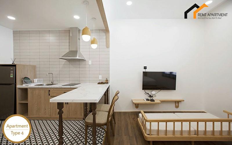 flat terrace furnished accomadation lease
