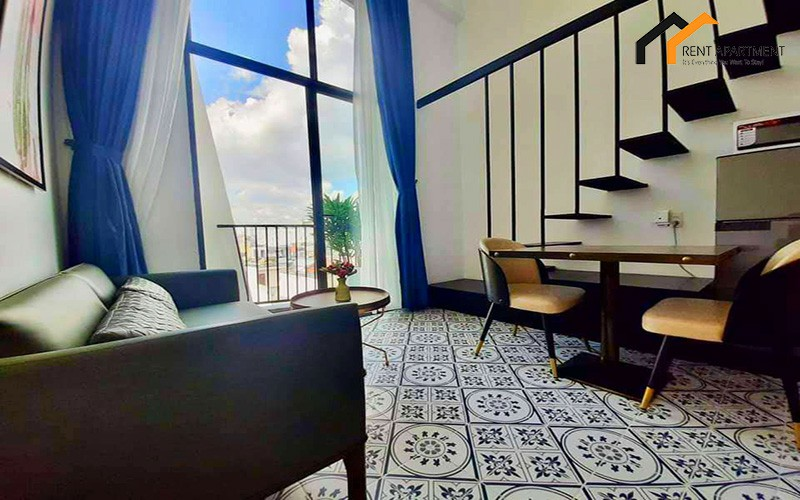 saigon livingroom Elevator balcony district