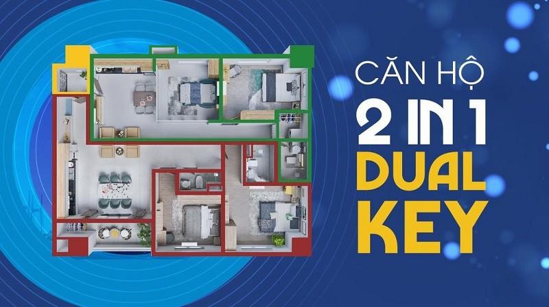 Căn hộ dual key là gì