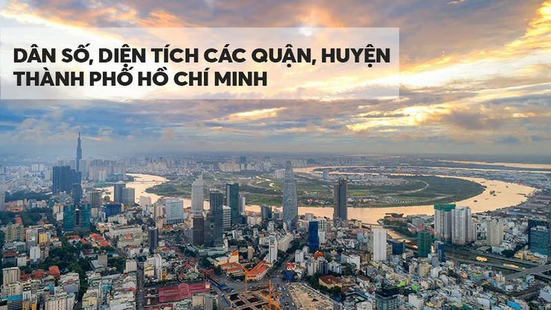 Dân số diện tích quận Hồ Chí Minh