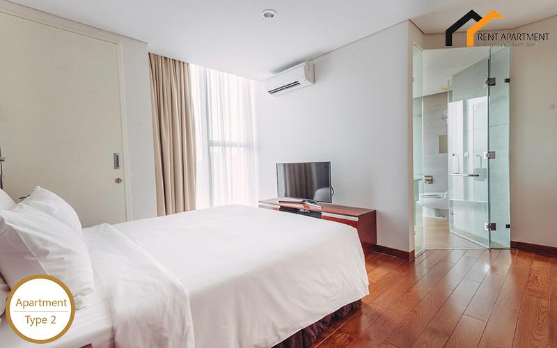 Apartments area toilet service properties