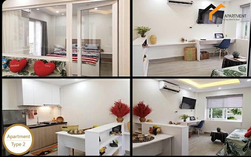 Apartments dining kitchen window deposit