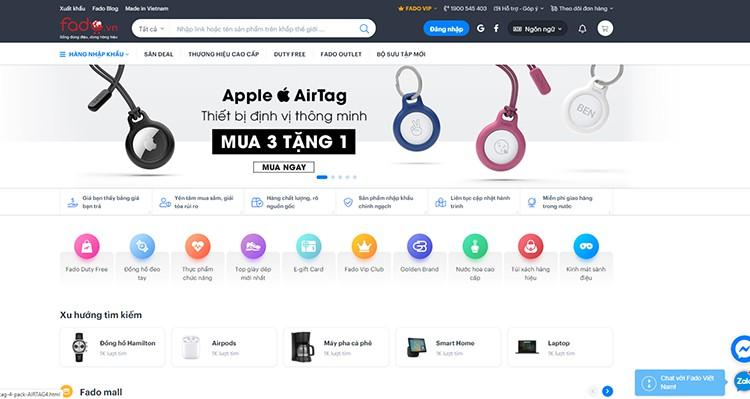 Fado shopping online