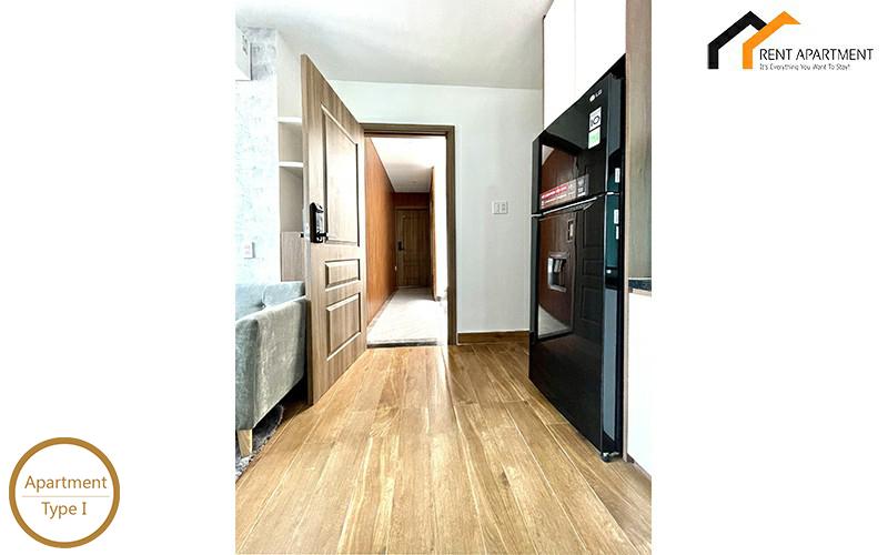 Real estate condos light room rentals