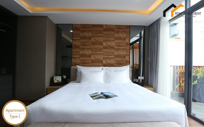 Saigon condos furnished balcony rent