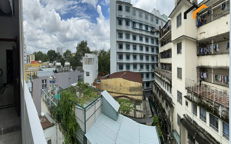 Saigon garage wc balcony tenant