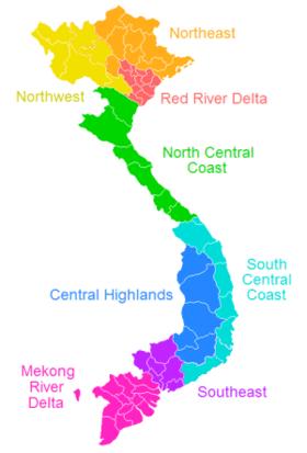 Vietnam region
