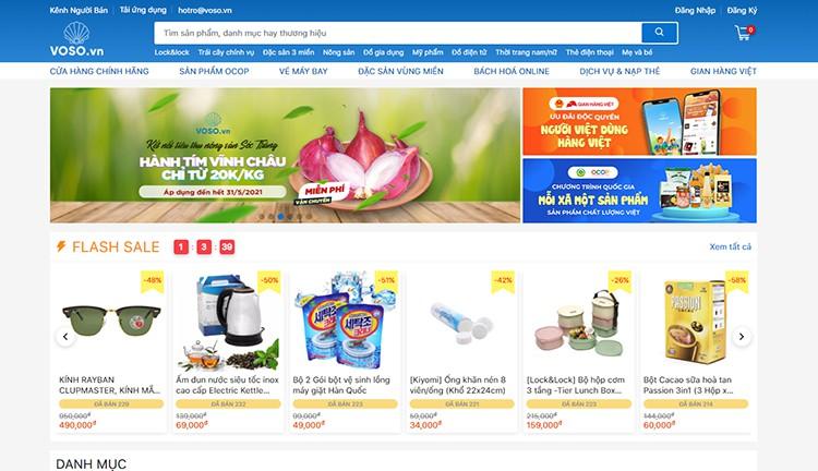 Voso shopping online