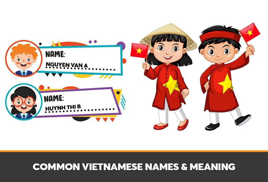 Vietnamese first last name