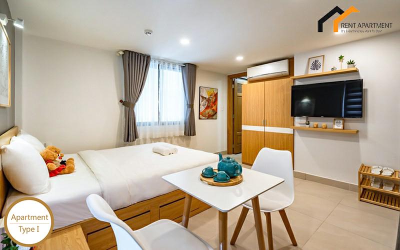 flat livingroom garden studio tenant