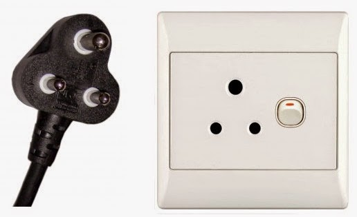 type D electrical outlet