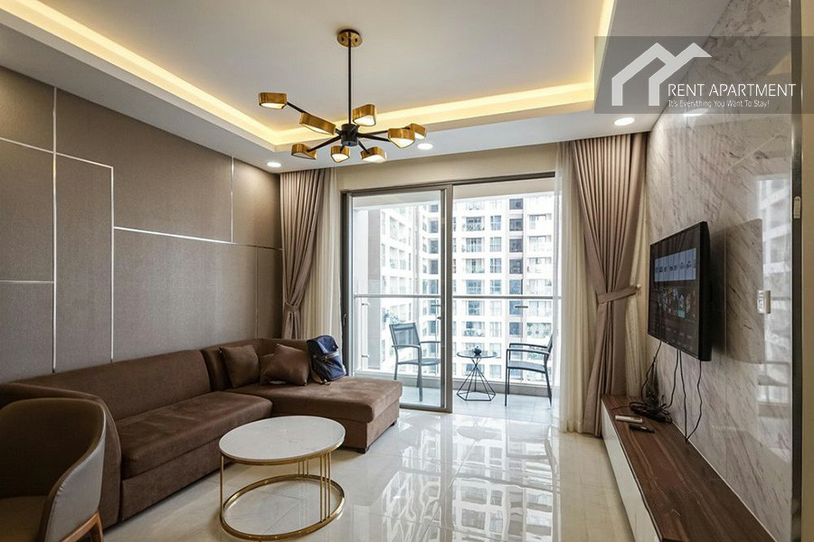 Apartments dining bathroom balcony district