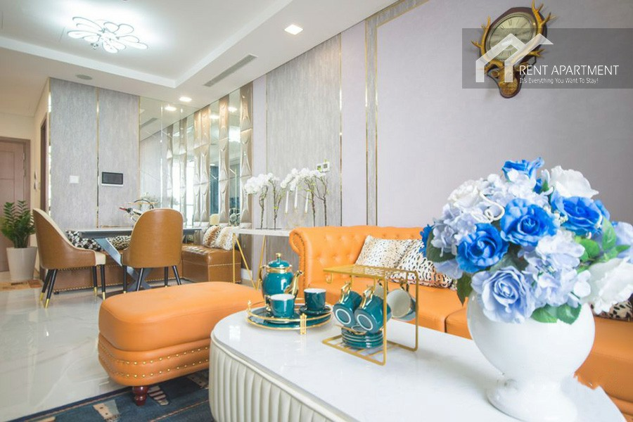 Apartments table furnished House types district