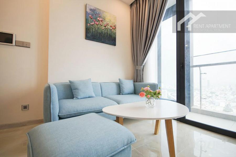 Real estate fridge furnished flat lease