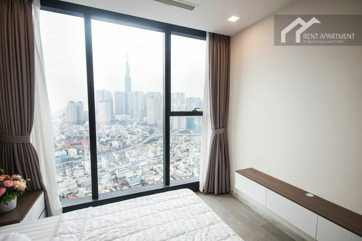 Saigon Duplex bathroom serviced rent