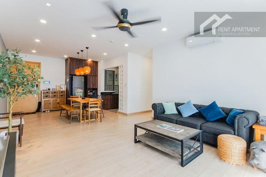 Saigon livingroom furnished balcony rent
