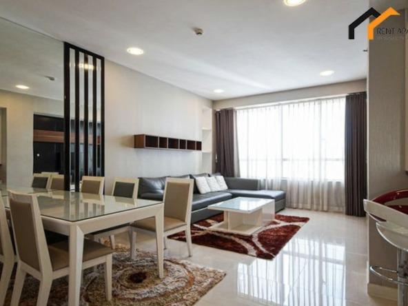 apartments terrace room stove rent